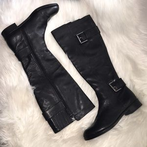 Via spiga leather riding boots sz 5m